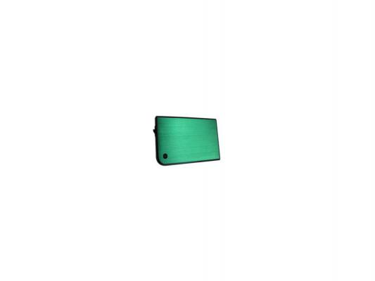 "Внешний контейнер для HDD 2.5"" SATA AgeStar 3UB2A14 USB3.0 зеленый"