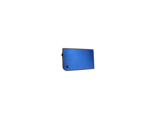 Внешний контейнер для HDD 2.5 SATA AgeStar 3UB2A14 USB3.0 синий внешний контейнер для hdd 2 5 sata agestar 3ub2a14 usb3 0 красный