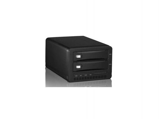 """������� ��������� ��� HDD 3.5""""x2 SATA AgeStar WNS23A Wi-Fi USB3.0 ������"""