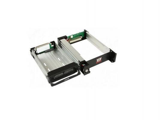 """Mobile rack для HDD 3.5"""" AGESTAR AMR1- SATA(K)-1F 1fan черный SR1A-K-1F"""