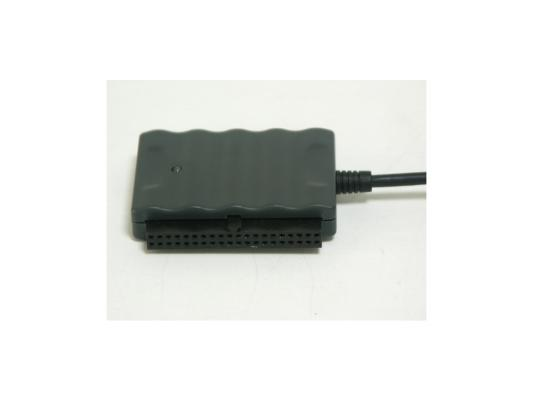 """Адаптер-переходник AgeStar USB 2.0 - 1.8""""/2.5""""/3.5""""/5.25"""" IUBCP черный + внешний блок питания"""