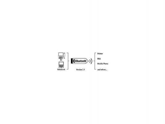 Беспроводной USB адаптер Hama H-49233 Bluetooth 2.1 3 Мбит/с