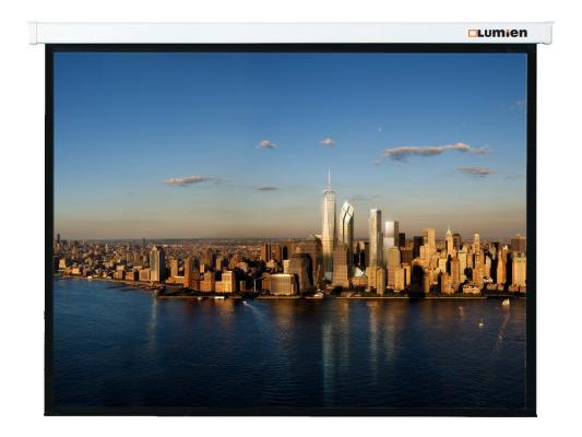 Экран Lumien Master Control 305x406см Matte White FiberGlass с электроприводом LMC-100112 экран lumien master control lmc 100102 180x180см matte white fiberglass с электроприводом
