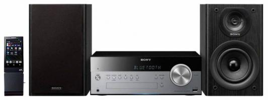 Микросистема Sony CMT-SBT100/C черный микросистема sony cmt sbt40d черный