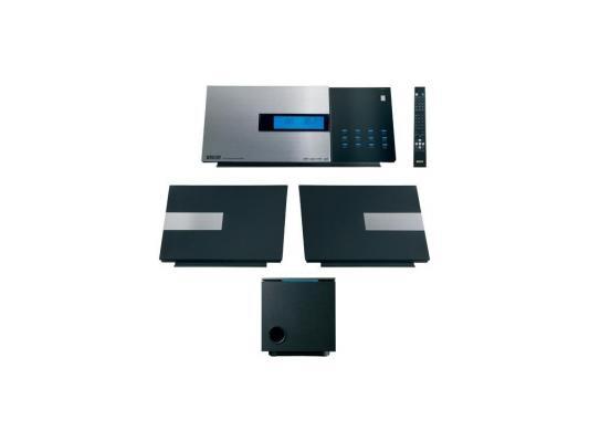Микросистема Mystery MMK-820U 2x25Вт черный