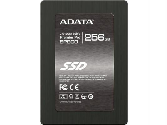 "SSD Твердотельный накопитель 2.5"" 256Gb A-Data SP900 Read 550Mb/s Write 520Mb/s SATAIII ASP900S3-256GM-C"