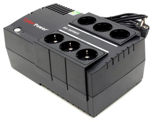 ИБП CyberPower 650VA BS650E 650VA Черный ибп cyberpower 650va 360w utc650ei из ремонта
