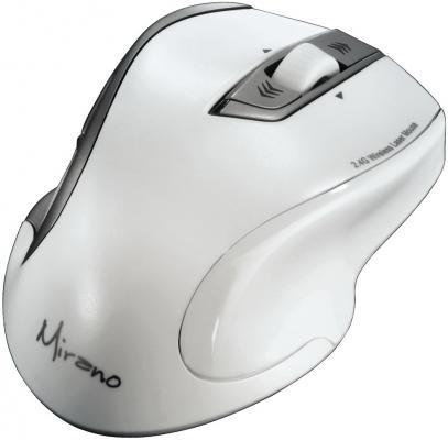 Мышь беспроводная HAMA Mirano H-53878 белый USB + радиоканал lt40062 ltc4006egn 2 40062 ssop16