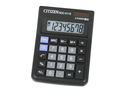 Калькулятор Citizen SDC-011S 8-разрядный калькулятор с печатью citizen 520dpa