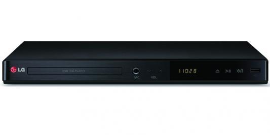 Проигрыватель DVD LG DP547H черный lg dp547h