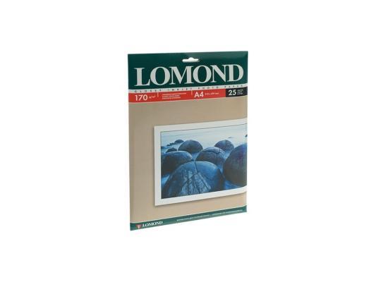 Фотобумага Lomond A4 170г/м2 25л глянцевая для струйной печати 102143