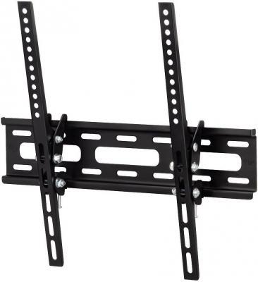 Кронштейн HAMA H-108716 XL черный для ЖК ТВ 23 - 50 настенный наклон 20° VESA 400x400 до 30 кг кронштейн hama h 118114 черный для жк настенный наклон