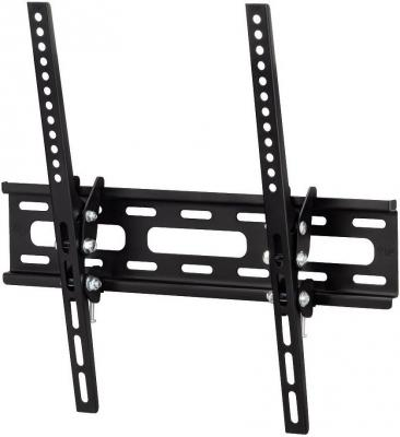 Кронштейн HAMA H-108716 XL черный для ЖК ТВ 23 - 50 настенный наклон 20° VESA 400x400 до 30 кг