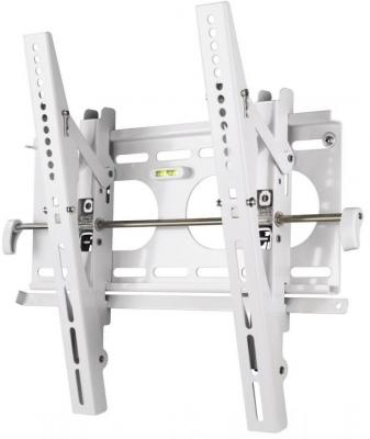Кронштейн HAMA H-84472 L белый для ЖК ТВ от 23 до 42 настенный VESA 400x400 до 50кг кронштейн для тв hama h 84472 white