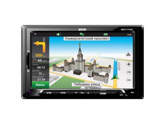 Автомагнитола Mystery MDD-7170NV USB MP3 SD MMC без CD-привода 2DIN 4x50Вт черный