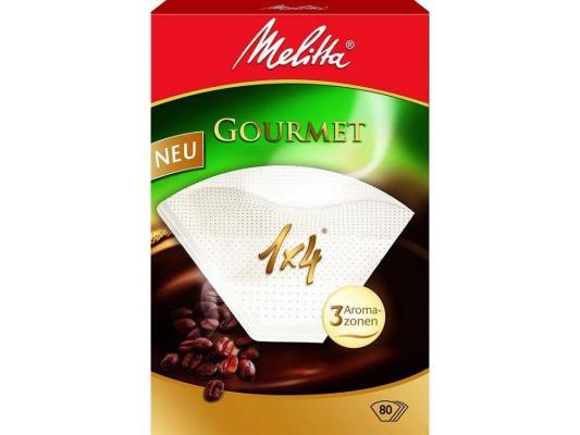 Фильтры бумажные Melitta Gourmet коричневый 1х4/80шт(1009-70) 206834
