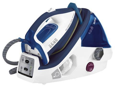 Парогенератор Tefal GV8960E0 2200Вт белый синий