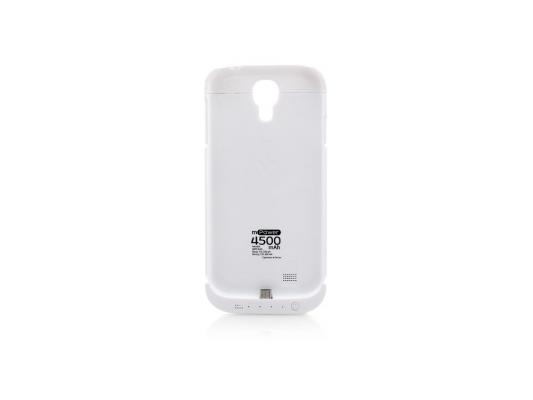 Чехол с аккумулятором Gmini mPower Case MPCS45 White для Galaxy S4 4500mAh чехол с аккумулятором gmini mpower case mpcs45f white для galaxy s4 4500mah flip cover