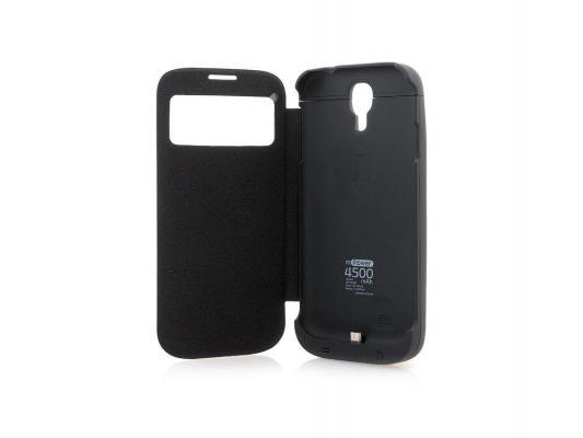 Купить Чехлы для смартфонов   Чехол с аккумулятором Gmini mPower Case MPCS45F Black для Galaxy S4 4500mAh Flip cover