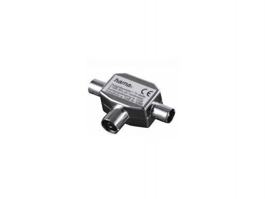 Антенный разветвитель HAMA H-42998 (КРАБ) коаксиальный антенный штекер 1 (f)-2 (m)