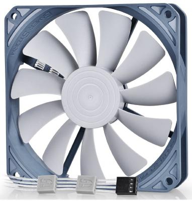 Вентилятор Deepcool GS 120 120x120x20 4pin 18-35dB 900-1800rpm 110g вентилятор deepcool gf140 140x140x26 4pin 26 7db 1200rpm 179g черный