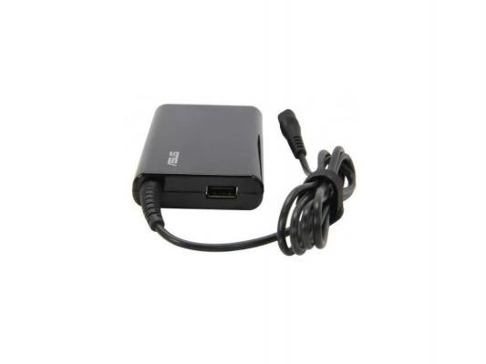 Блок питания для ноутбука Asus COMBO SLIM 65W 90-XB3J00PW00080 черный аксессуар сумка 14 0 asus terra slim carry bag pink 90 xb1f00ba00040