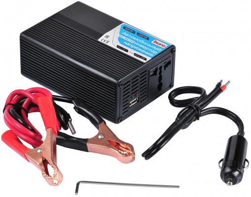 Автомобильный инвертор напряжения Buro BUM-8105CI300 300Вт автомобильный инвертор напряжения belkin f5c412eb300w