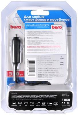 Автомобильный инвертор напряжения Buro BUM-8105CI300 300Вт от 123.ru