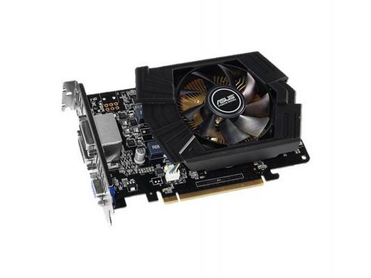 Видеокарта 2048Mb ASUS GeForce GTX750 Ti PCI-E GDDR5 2xDVI HDMI DP GTX750TI-PH-2GD5 Retail