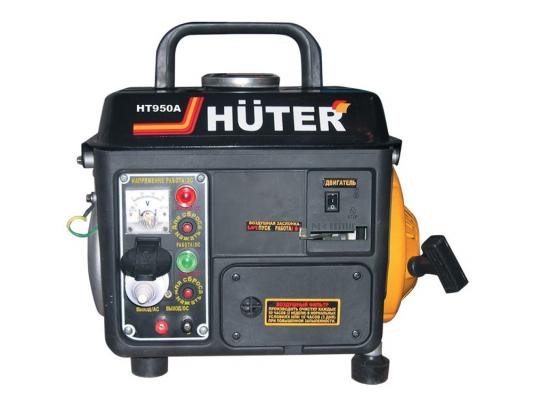 Генератор Huter HT950A бензиновый 2 л.с генератор бензиновый huter dy6500lxw