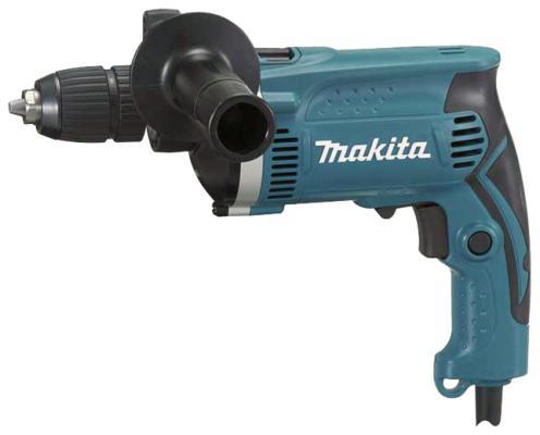 Дрель ударная Makita HP1631 710Вт БЗП дрель ударная makita hp1631kx2