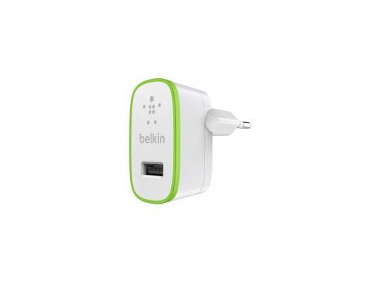 Автомобильное зарядное устройство Belkin для iPhone iPod 2.4A F8J040VFWHT белый belkin lego case shield for ipod touch 5