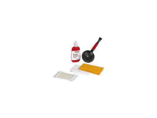 Чистящий набор HAMA H-5934 Profi кисть-обдуватель/чистящая жидкость/чистящие салфетки/тампоны