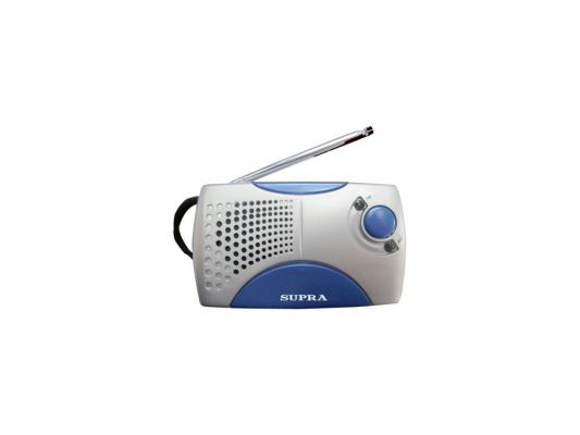 Радиоприемник SUPRA ST-113 silver/blue
