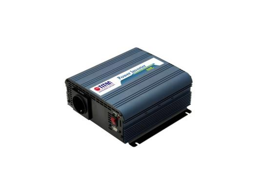 Автомобильный инвертор напряжения Titan HW-600V6 600Вт автомобильный инвертор напряжения belkin f5c412eb300w