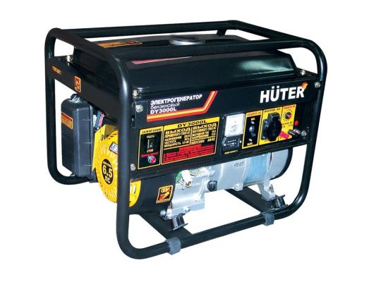 Генератор Huter DY3000L бензиновый 6.5 л.с генератор бензиновый huter dy6500lxw