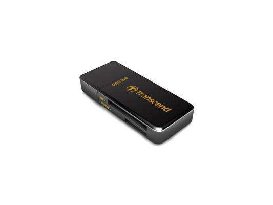 Картридер внешний Transcend TS-RDF5K USB3.0 SDXC/SDHC/SD/microSDXC/microSDHC/microSD черный картридер внешний transcend ts rdf8k usb3 0 cf microsd mmc sd sdhc tf msduo msmicro черный