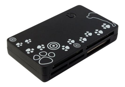 Картридер внешний PC Pet CR-215DBK USB2.0 ext CF/SD/microSD/MMC/RS-MMC/MS/MSduo/XD/microMS (24-in-1) черный сумка для ноутбука pc pet pcp a9015bk