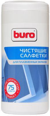 Влажные салфетки BURO BU-TPSM 75 шт салфетки влажные авангард 48107 15 шт влажная