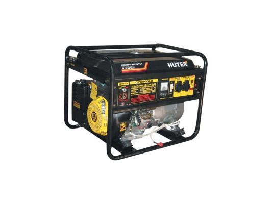 Генератор Huter DY6500LX электростартер 5000Вт генератор huter dy6500lx электростартер 5000вт