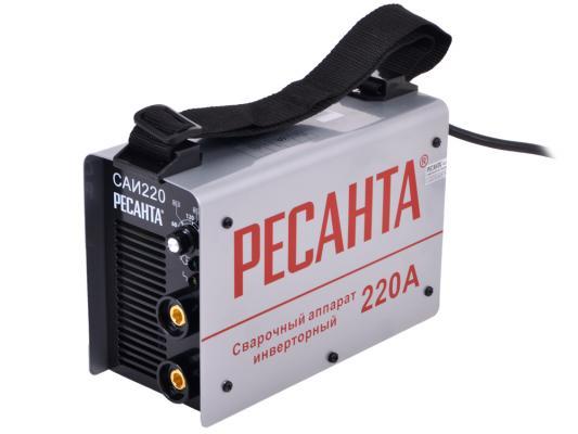 Аппарат сварочный Ресанта САИ 220 65/3 сварочный аппарат инвертор ресанта саи 220 [саи 220]