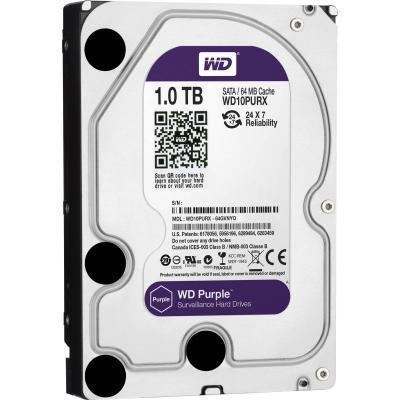 "Жесткий диск 3.5"" 1 Tb 64Mb cache Western Digital Purple SATAIII WD10PURX"