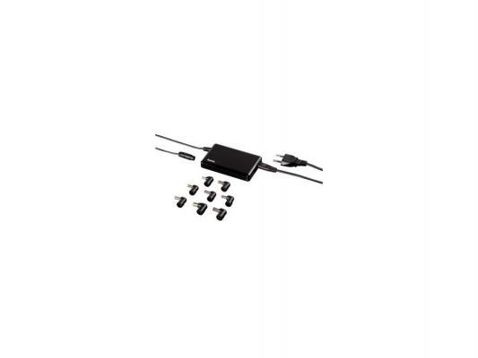 Блок питания для ноутбука Hama H-54190 универсальный 90Вт 8 переходников черный