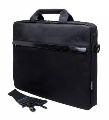 Cумка для ноутбука 15.6 PC Pet PCP-1002BK полиэстер черный 726542