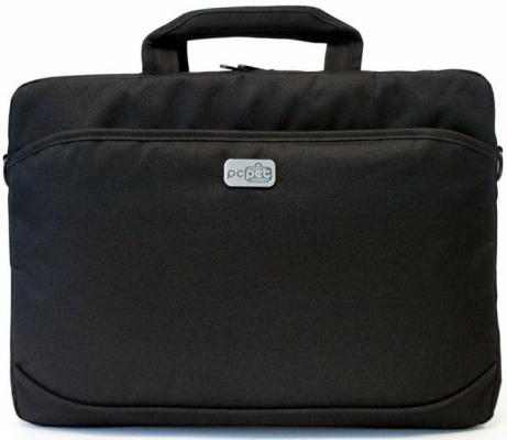 Сумка для ноутбука 15.6 PC Pet 600D PCP-A1315BK нейлон черный сумка для ноутбука 15 6 pc pet pcp sl9015n