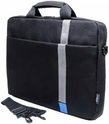 """Сумка для ноутбука 15.6"""" PCPet PCP-1001BL полиэстер черный"""