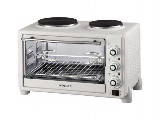 Мини-печь Supra MTS-342 белый