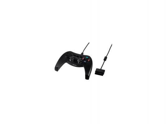 Контроллер Hama H-115409 Combat Bow для PS2 15 кнопок 2 м черный