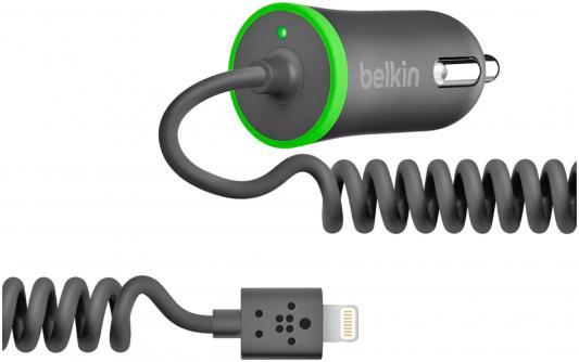Автомобильное зарядное устройство Belkin F8J074BTBLK 8-pin Lightning 2.1A черный
