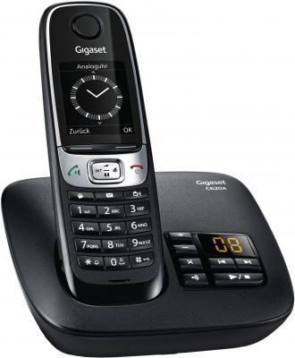 Фото Радиотелефон DECT Gigaset C620A черный радиотелефон dect gigaset e630h черный